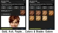 Upload your photo, try 50 hair colors